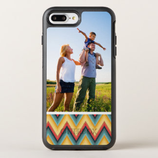 Photo Zig Zag Striped Background 2 OtterBox Symmetry iPhone 8 Plus/7 Plus Case