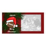 Photocard - Christmas Football Photo Card