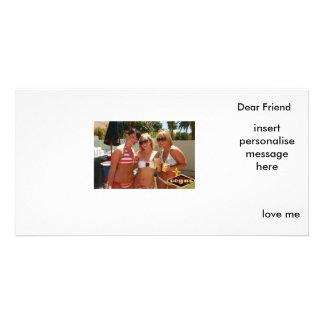 photocard custom photo card