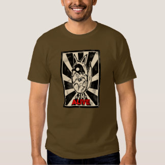 Photocoyote t-shirt brown