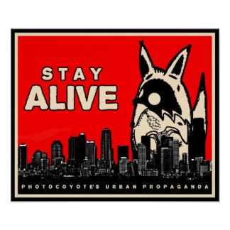 Photocoyote Urban Propaganda Poster