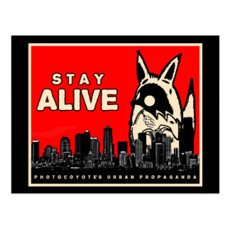 Photocoyote's Urban Propaganda postcard