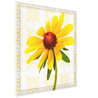 Photograph of A Black-Eyed Susan Blossom Canvas Print