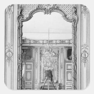 Photograph of a mirror at  Chateau de Versailles Square Sticker