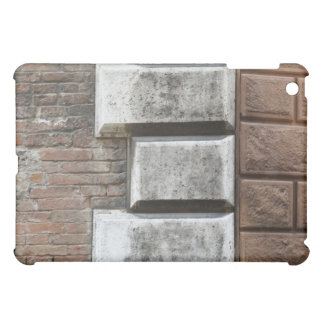 Photograph of an old brick wall in Siena Italy. Cover For The iPad Mini