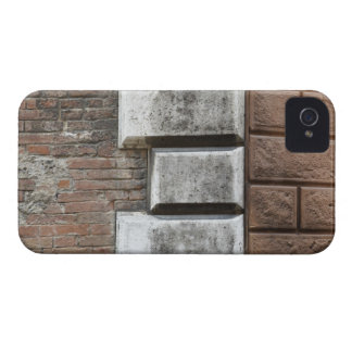 Photograph of an old brick wall in Siena Italy. iPhone 4 Case-Mate Cases