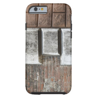 Photograph of an old brick wall in Siena Italy. Tough iPhone 6 Case