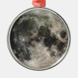 Photograph of Full moon Christmas Ornament