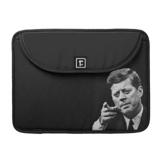 Photograph of John F. Kennedy 3 Sleeve For MacBook Pro