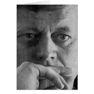 Photograph of John F. Kennedy Card