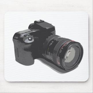 Photograph Of Modern DSLR Camera Mouse Mat
