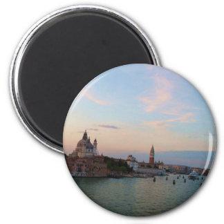 Photograph of Romantic Venice Lagoon Magnet