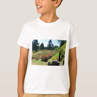 Photograph of Rose Garden, Portland, Oregon T-Shirt