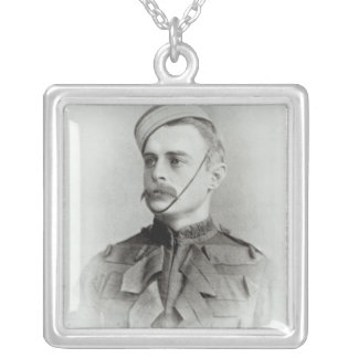 Photograph of Sir Francis Younghusband Silver Plated Necklace