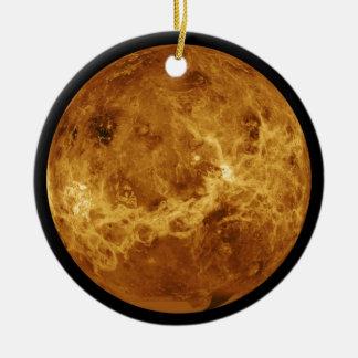 Photograph of the Venus planet Christmas Ornament