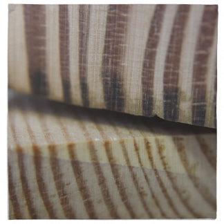 Photograph of wood napkin