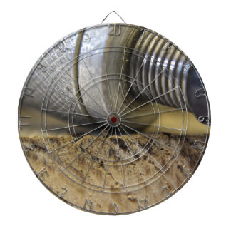 photograph of woodwork tools dartboard