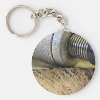 photograph of woodwork tools key ring