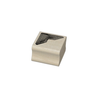 Photograph Paper Holder Rubber Art Stamp