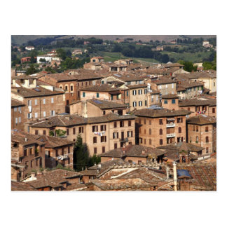 Photograph taken in Siena, Italy. One can see Postcard