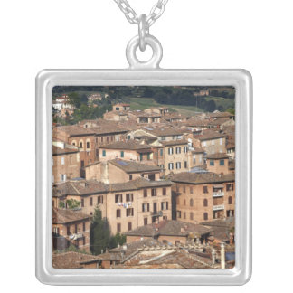 Photograph taken in Siena, Italy. One can see Silver Plated Necklace
