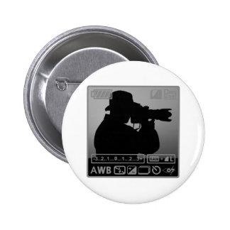 Photographer 6 Cm Round Badge