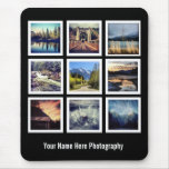 Photographer 9 Photo Grid Mouse Pads