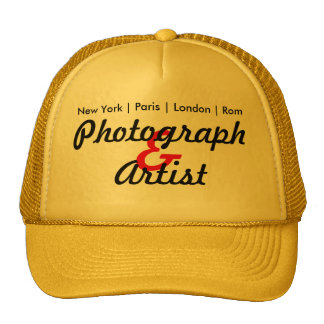 Photographer and kindist cap