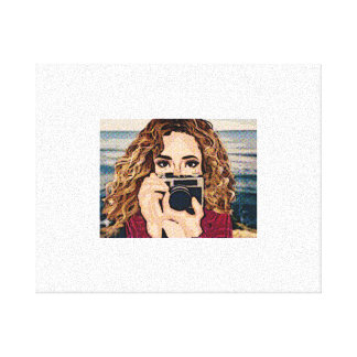 Photographer- Book Comic Canvas Print
