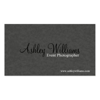 Photographer - Business Cards