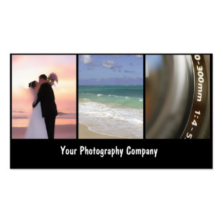 Photographer Business Cards_New Double-Sided Standard Business Cards (Pack Of 100)