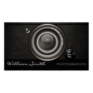 Photographer camera tarjetas de visita