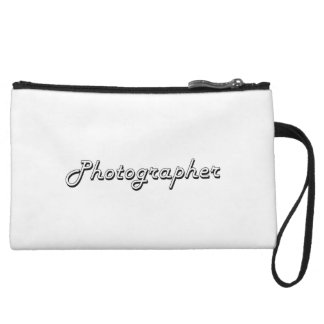 Photographer Classic Job Design Wristlet Purse