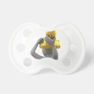 photographer golden camera baby pacifiers