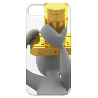 photographer golden camera iPhone 5 cover