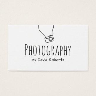 Photographer Hand Script Minimalist
