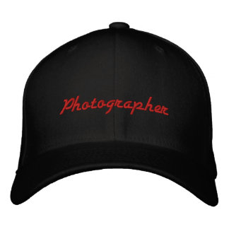 Photographer Hat Embroidered Hats