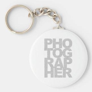 Photographer Key Chain