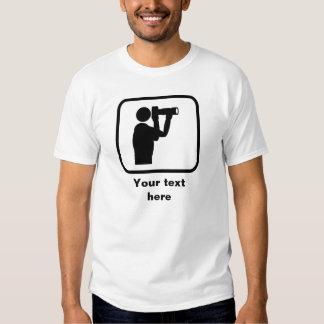 Photographer Logo -- Customizable T Shirt