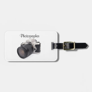 Photographer - Luggage Tag