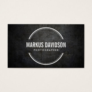 Photographer Photography Camera Lens Business Card