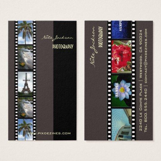 Photographer photos template/diy fonts business card