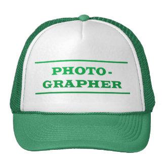 PHOTOGRAPHER : Text Cap
