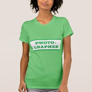 PHOTOGRAPHER : Text T-Shirt