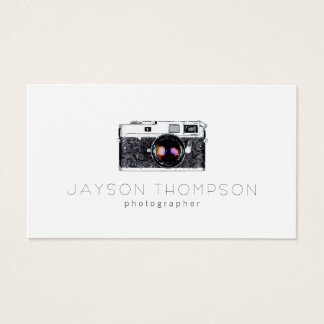 Photographer Vintage Camera Illustration Logo
