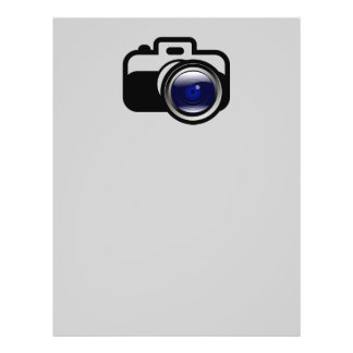 Photographers always keep things in focus 21.5 cm x 28 cm flyer