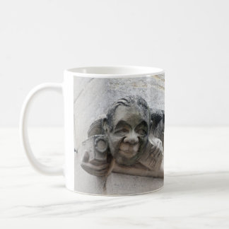 Photographer's gargoyle mug