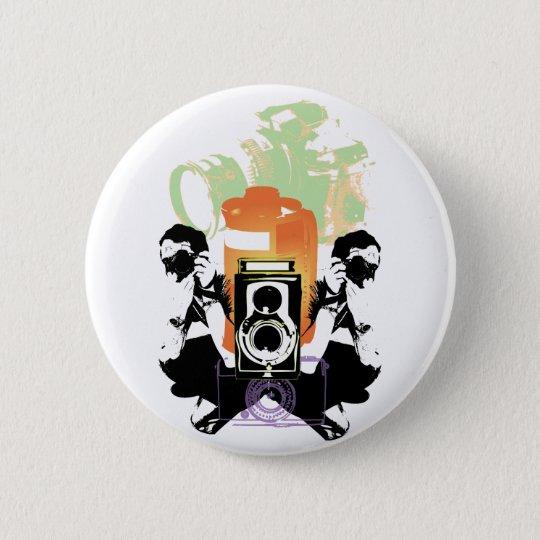 Photography 6 Cm Round Badge