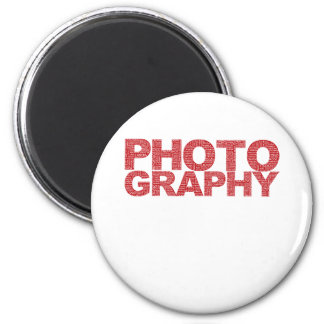 Photography 6 Cm Round Magnet