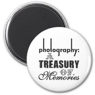 Photography A Treasury of Memories 6 Cm Round Magnet